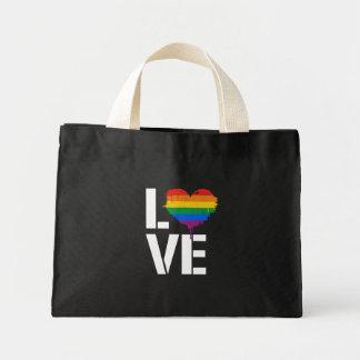 LGBTQ LOVE - - LGBTQ Rights -  -  Mini Tote Bag