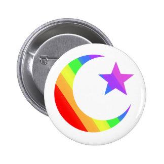 LGBTQ Muslim Pinback Button