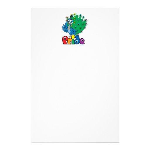 LGBTQ Peacock Stationery
