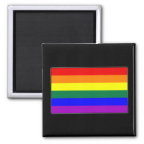 LGBTQ Pride Flag Magnet