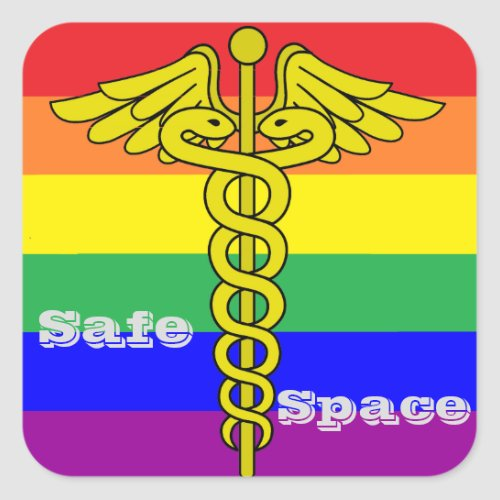 LGBTQ Safe Space Sticker