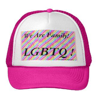 ¡LGBTQ! Somos gorra de la familia