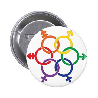LGBTQ United 2 Inch Round Button