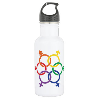 LGBTQ United Stainless Steel Water Bottle