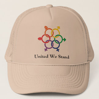 LGBTQ United Trucker Hat