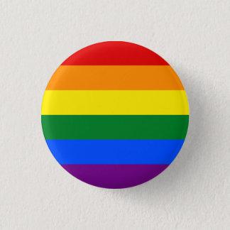 LGBTQA+ Rainbow Flag Button