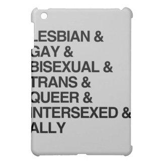 LGBTQI LIST COVER FOR THE iPad MINI