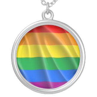 LGBTQI PRIDE ROUND PENDANT NECKLACE