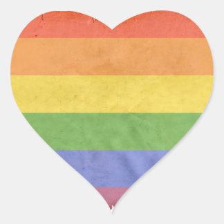LGBTQI HEART STICKER