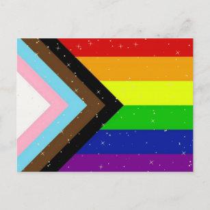 LGBTQIA+ PRIDE POSTCARD