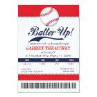 LGC Batter Up Baseball Ticket 2nd Version Card