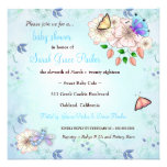 LGC | Garden Baby Shower Blue #2 Invites