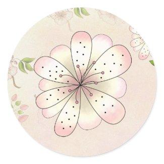 LGC | Garden Baby Shower Sticker sticker