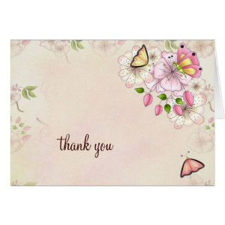 LGC Garden Baby Shower Thank you Card