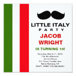"LGC Little Italy Party 5.25"" Square Invitation Card"