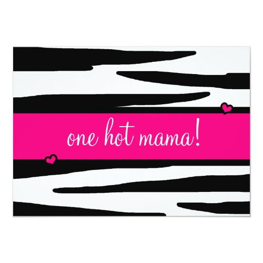 LGC | One Hot Momma Baby Shower Card