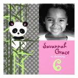 LGC | Panda Peek A Boo Pink Invitation