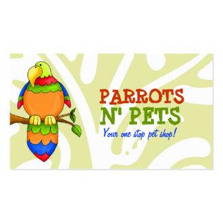 LGC   Parrots N' Pets Business Card