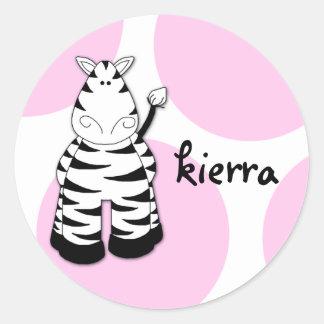 LGC | Pinkie the Zebra Sticker