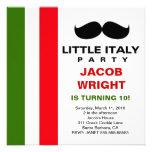 LGC poco fiesta de Italia Invitaciones Personalizada