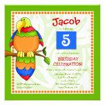 LGC | Tropical Parrot-dise Invitation