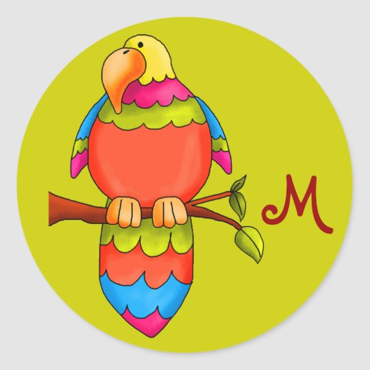 LGC  Tropical Parrot-dise Sticker