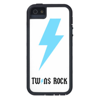 LGC Twins Rock Blue Lightening Bolt iPhone SE/5/5s Case
