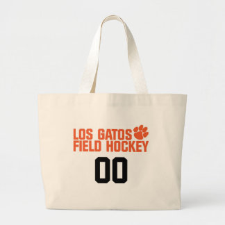 LGFH Jumbo Tote with Jersey Number