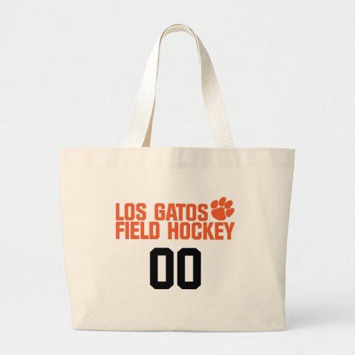 LGFH Jumbo Tote with Jersey Number Canvas Bag