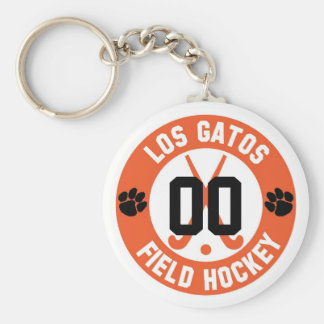 LGFH Keychain with Jersey Number