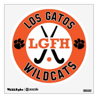 LGFH Wildcats Wall Decal 12x12