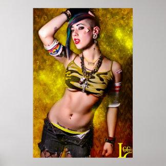 """LGG's """"Tank Girl"""" Poster"""