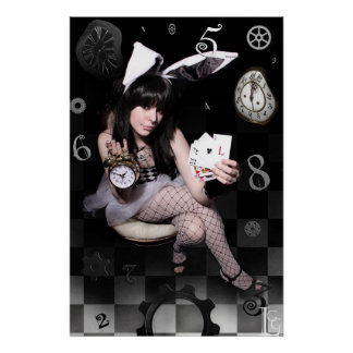 "LGG's White Rabbit 20"" x 30"" POSTER"