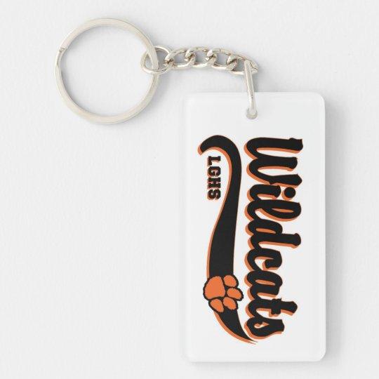 LGHS Wildcats Keychain