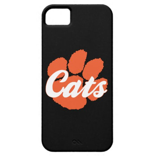 LGHS Wildcats Paw iPhone 5 Barely There Case iPhone 5 Covers