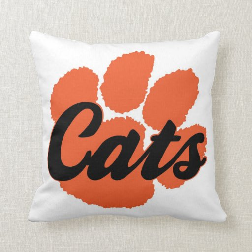 LGHS Wildcats Pillow
