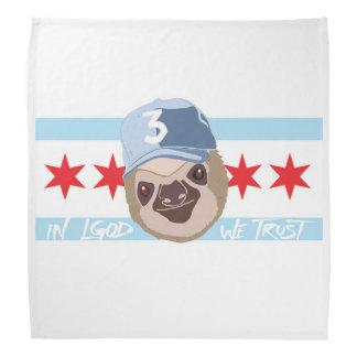 LGOD Chicago Sloth Bandana