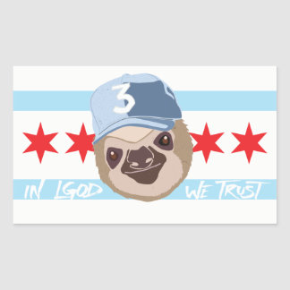 LGOD Chicago Sloth Sticker