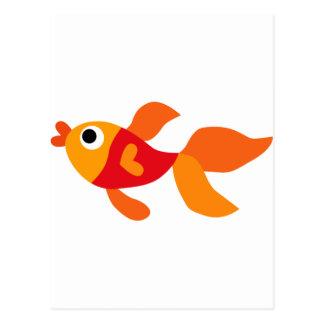 LGoldfishP5 Postcard