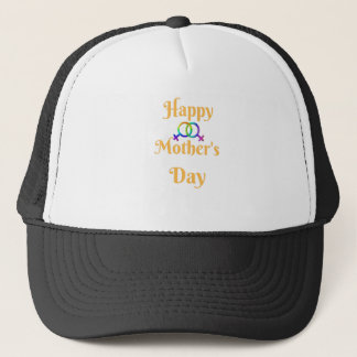 LGTBQ MOTHER'S DAY  LOVE YOU BOTH T-SHIRT TEE TRUCKER HAT