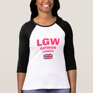 LGW Gatwick London Airport Code Shirt