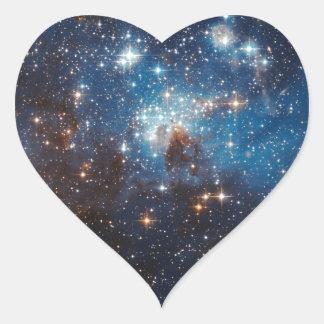 LH95 Stellar Nursery Heart Sticker