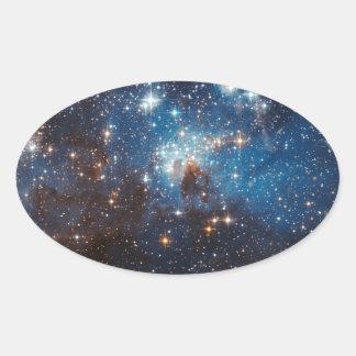 LH95 Stellar Nursery Oval Sticker
