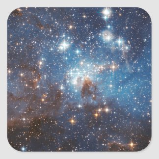 LH 95 in the Large Magellanic Cloud Square Sticker