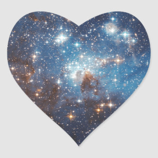 LH 95 in the Large Magellanic Cloud Heart Stickers