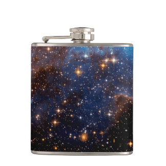 LH 95 Star Forming Region - Hubble Space Photo Flask
