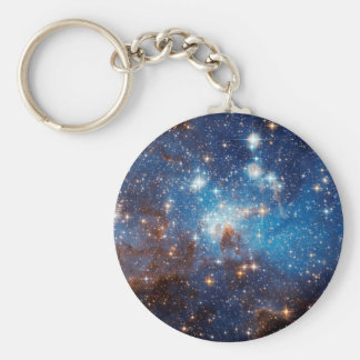 LH 95 Star Forming Region - Hubble Space Photo Keychain