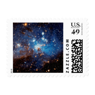 LH 95 Star Forming Region - Hubble Space Photo Postage