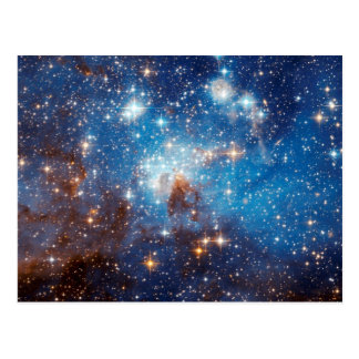 LH 95 Star Forming Region - Hubble Space Photo Postcard