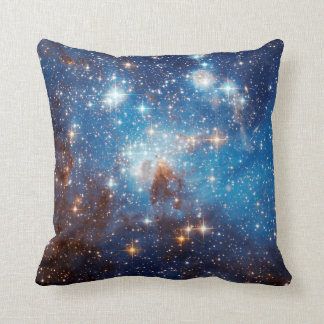 LH 95 Star Forming Region - Hubble Space Photo Throw Pillow